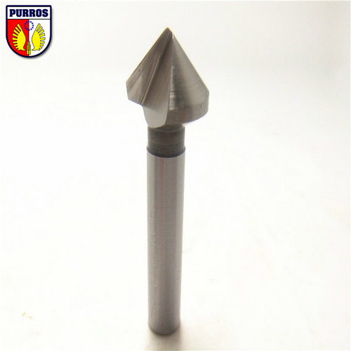 1 Flute Countersinksr,6.3mm Head Diameter, 90 Degree Included Angle